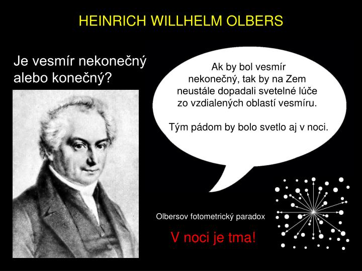 HEINRICH WILLHELM OLBERS