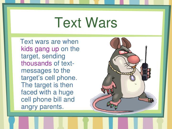 Text Wars