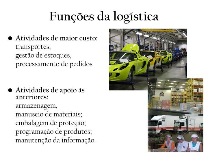 Funções da logística