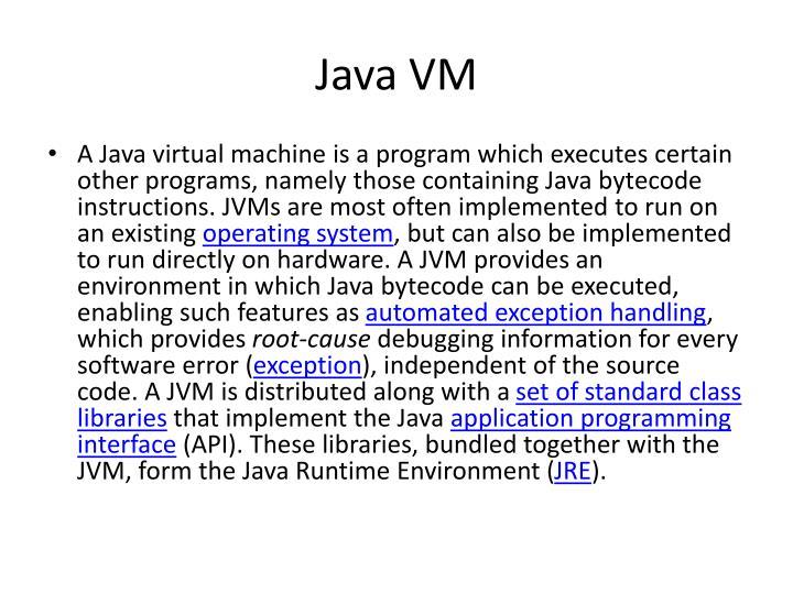 Java VM