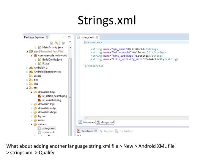 Strings.xml
