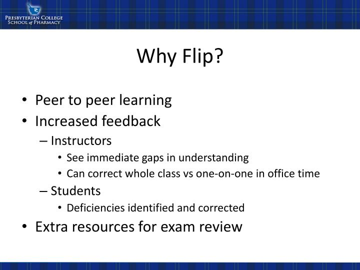 Why Flip?