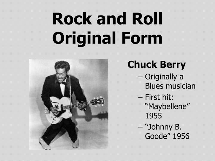 Rock and roll original form1