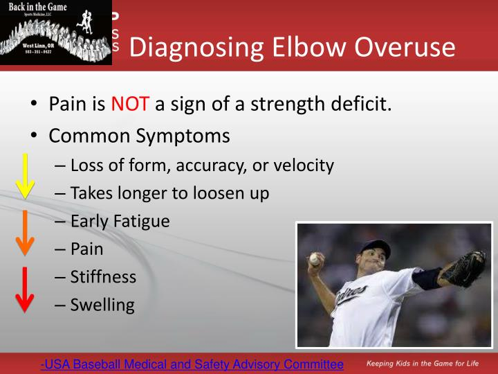 Diagnosing Elbow Overuse