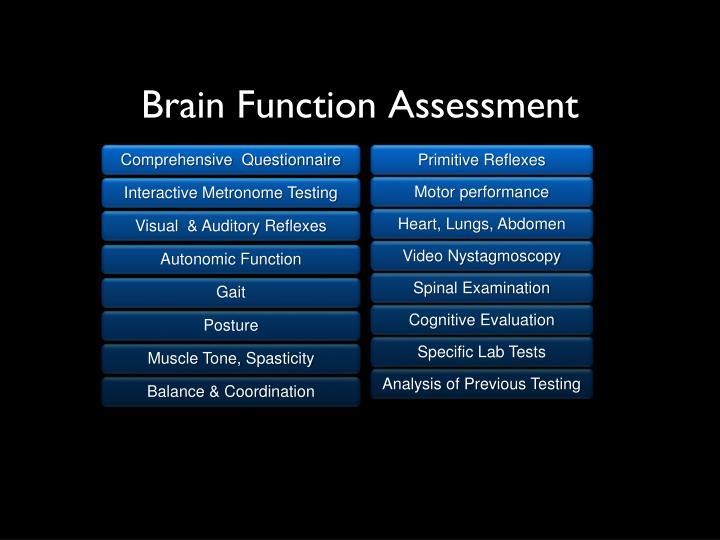 Brain Function Assessment