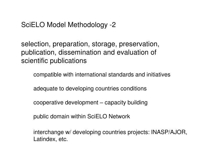 SciELO Model Methodology -2