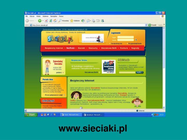 www.sieciaki.pl