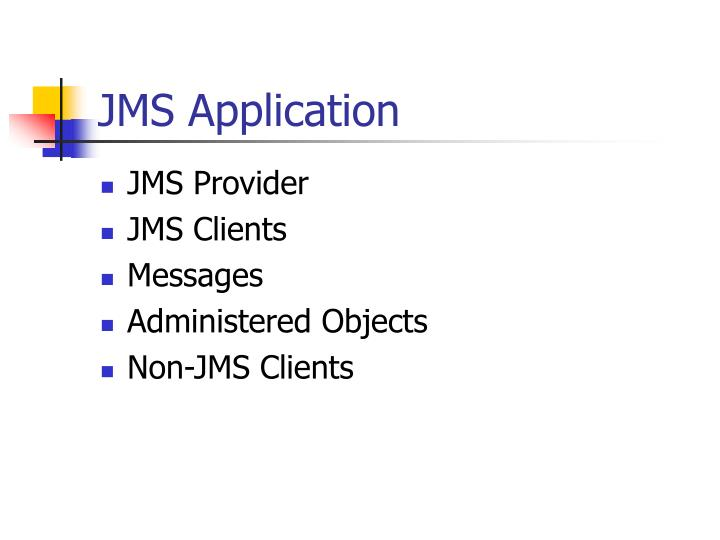 JMS Application