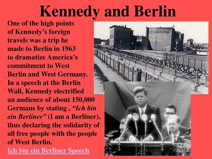 Kennedy and Berlin