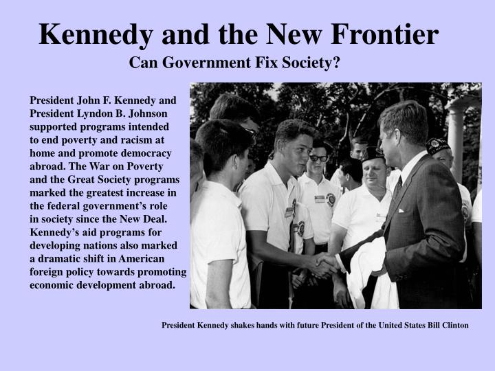 Kennedy and the New Frontier