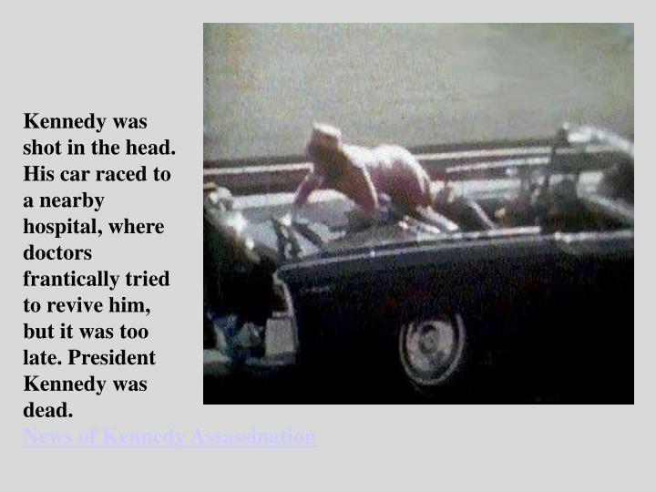Kennedy was