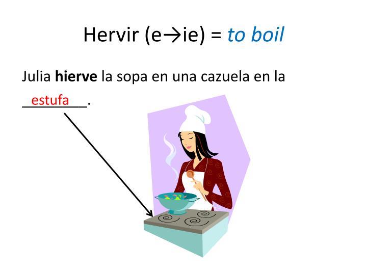 Hervir