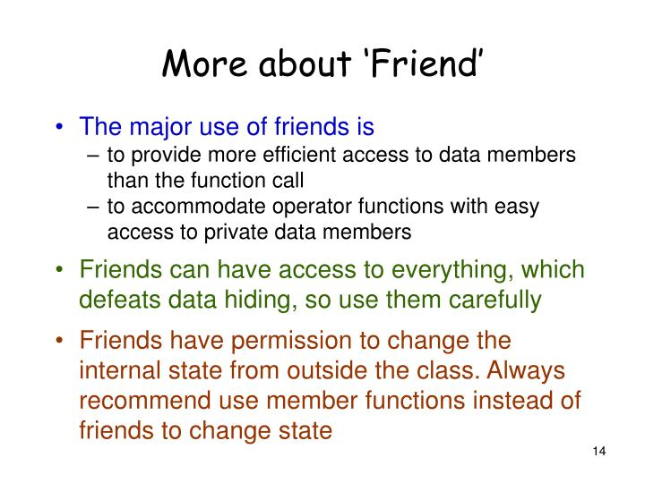 More about 'Friend'