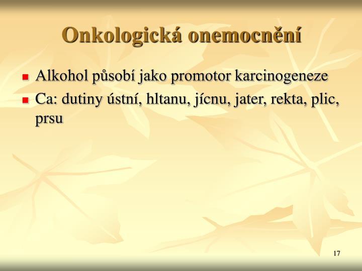 Onkologick onemocnn