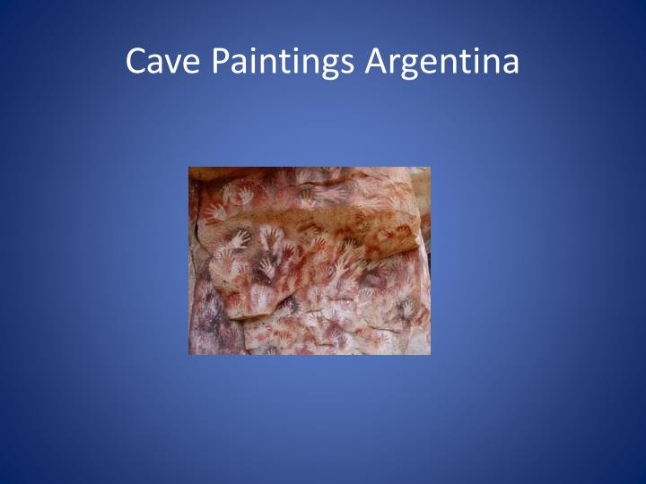 Cave Paintings Argentina