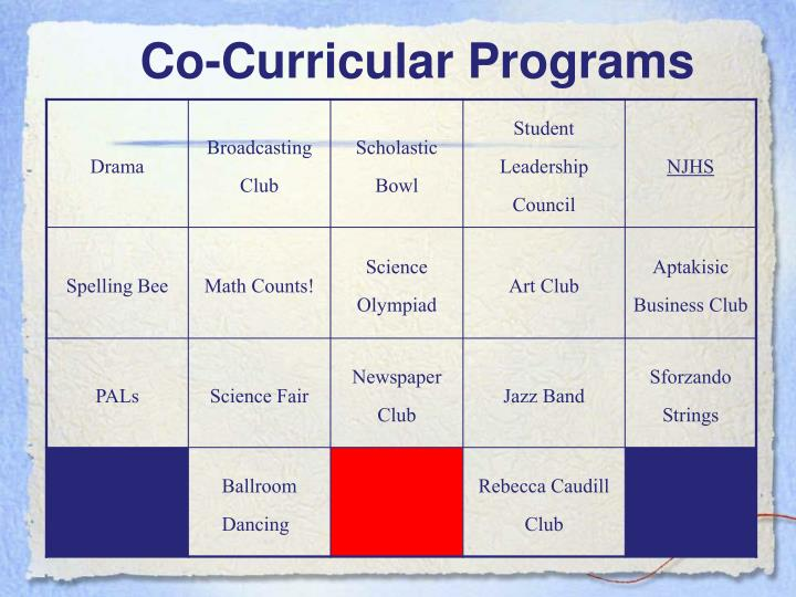 Co-Curricular Programs