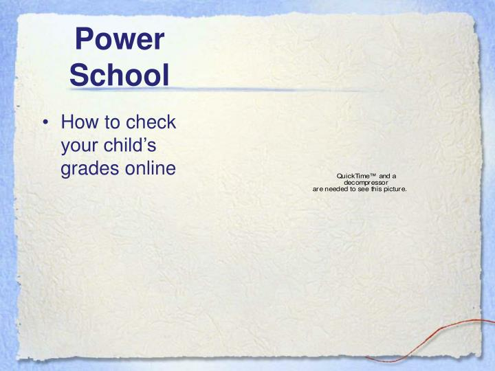 How to check your child's grades online