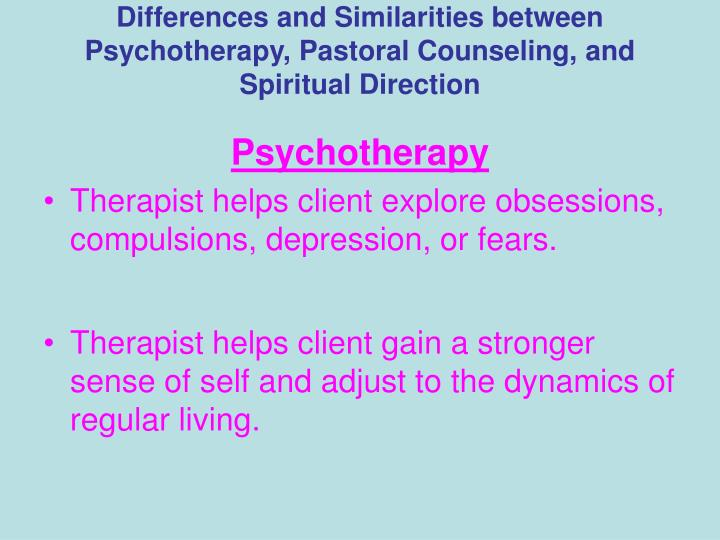 "difference between counseling and psychotherapy Coaching vs therapy: what are the differences and when do you ""what is the difference between similarities between psychotherapy and coaching."