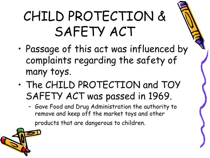 CHILD PROTECTION & SAFETY ACT