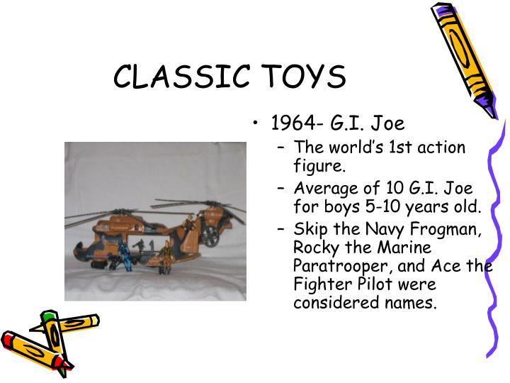 1964- G.I. Joe