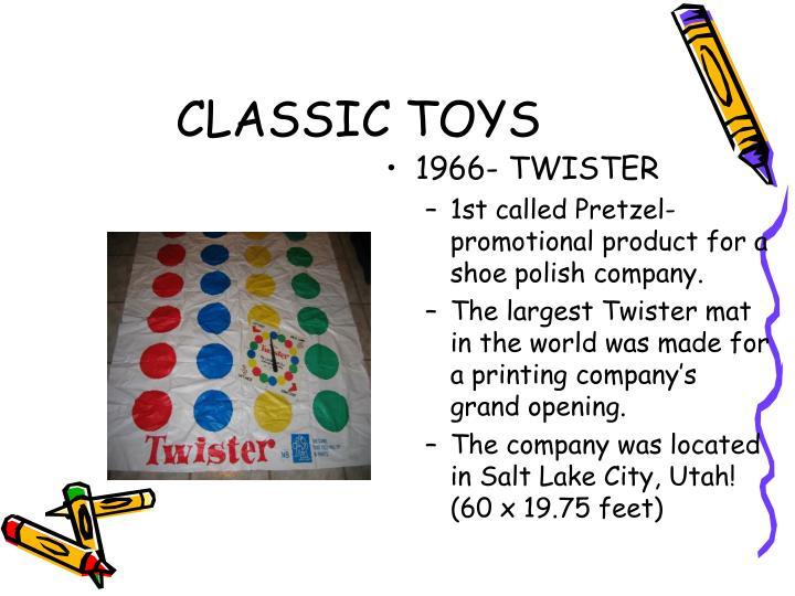 1966- TWISTER