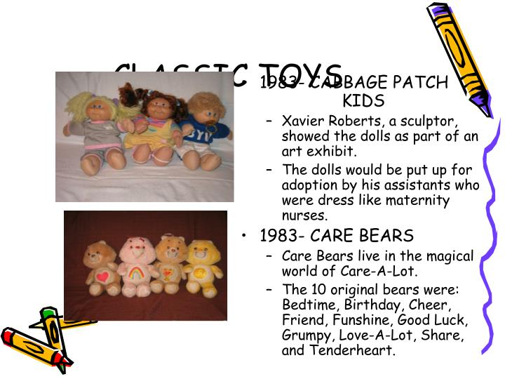 1983- CABBAGE PATCH     KIDS