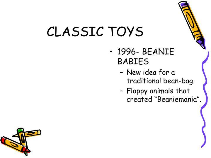 1996- BEANIE BABIES