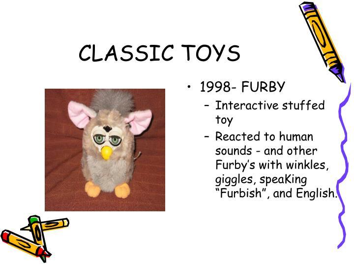 1998- FURBY