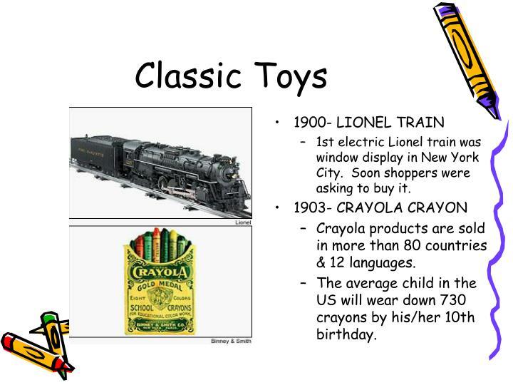 1900- LIONEL TRAIN