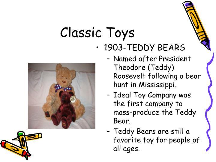 1903-TEDDY BEARS
