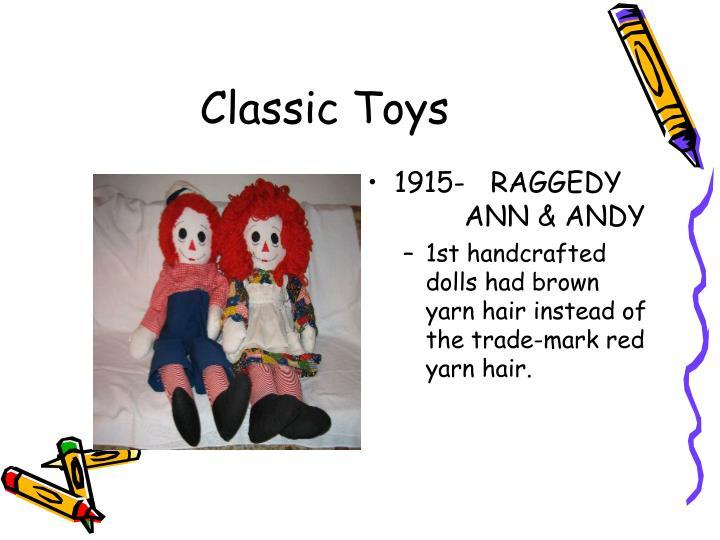 1915-   RAGGEDY    ANN & ANDY