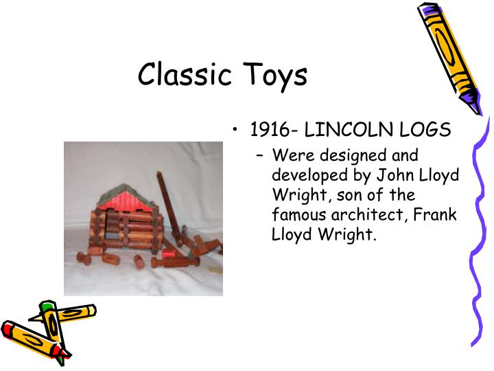1916- LINCOLN LOGS