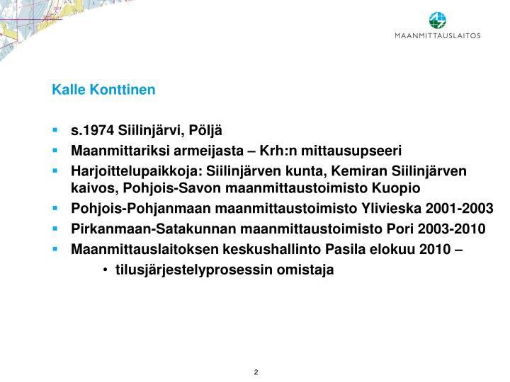Kalle Konttinen