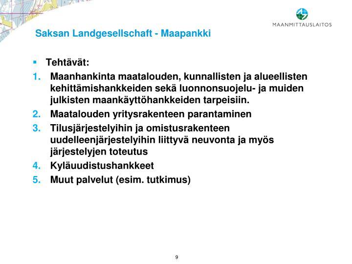 Saksan Landgesellschaft - Maapankki