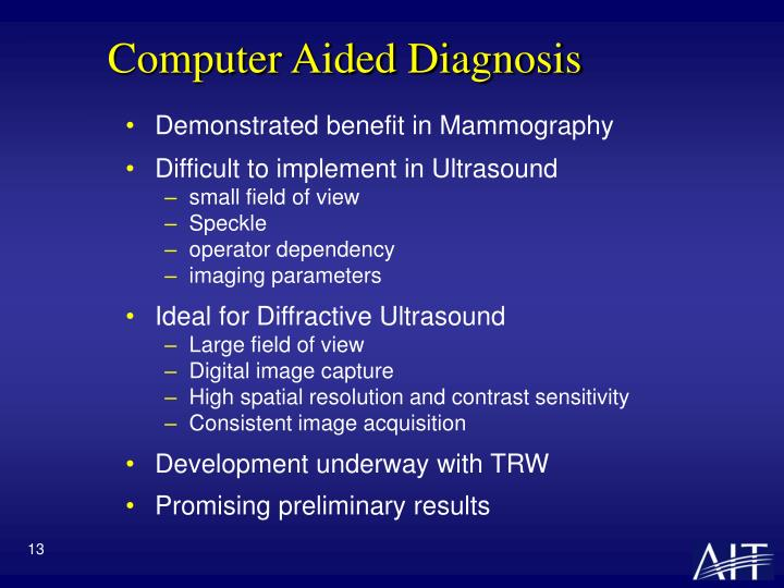 Computer Aided Diagnosis