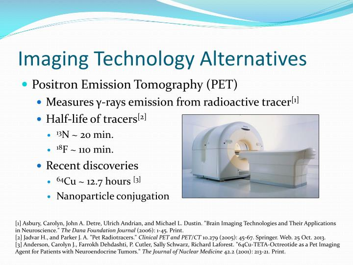 Imaging Technology Alternatives
