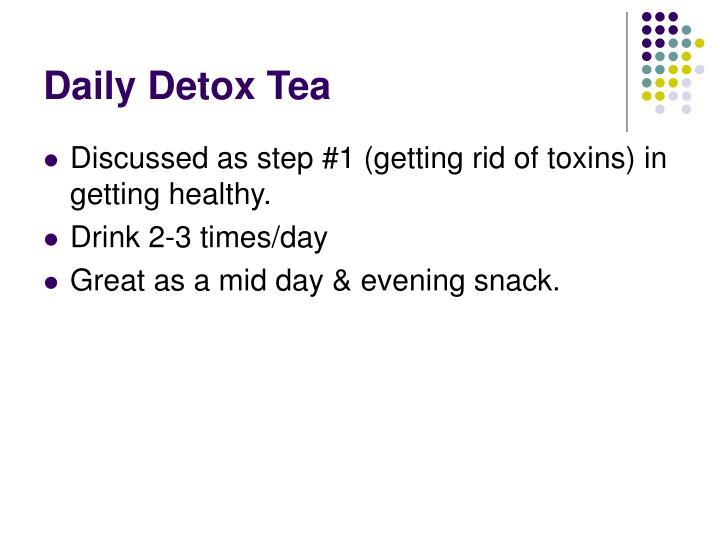 Daily Detox Tea
