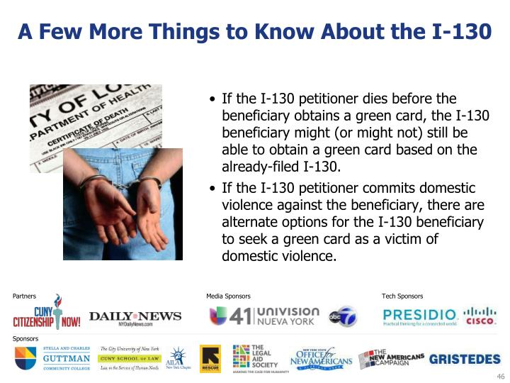 A Few More Things to Know About the I-130