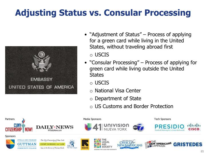 Adjusting Status vs. Consular Processing