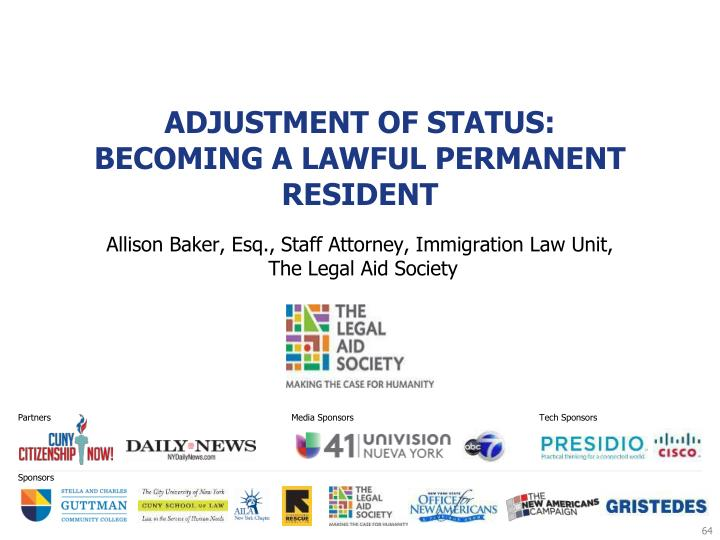 Adjustment of Status: