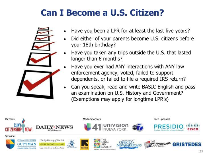 Can I Become a U.S. Citizen?