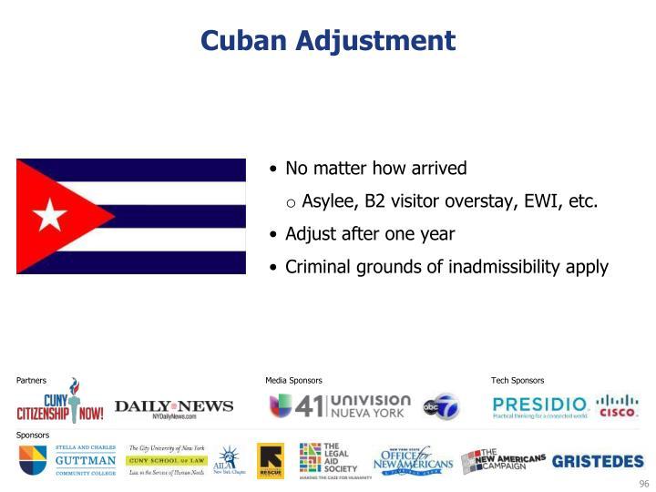 Cuban Adjustment