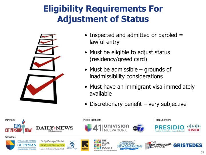 Eligibility Requirements For