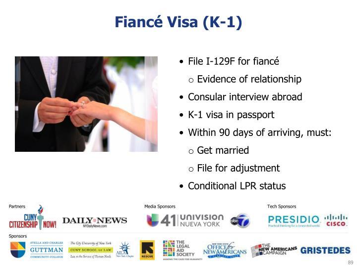 Fiancé Visa (K-1)