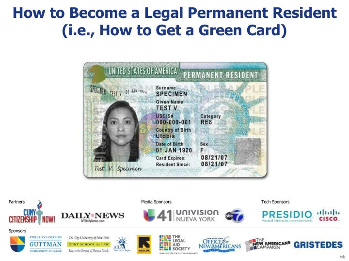 How to Become a Legal Permanent Resident (i.e., How to Get a Green Card)