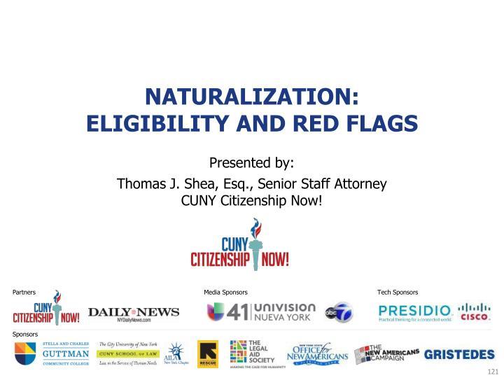 Naturalization: