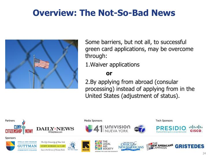 Overview: The Not-So-Bad News