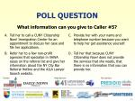 poll question21