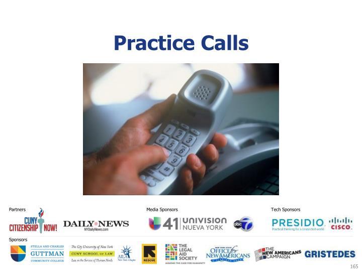 Practice Calls