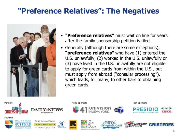 """Preference Relatives"": The Negatives"